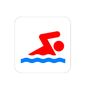 Blue Swimmer Icon icon png