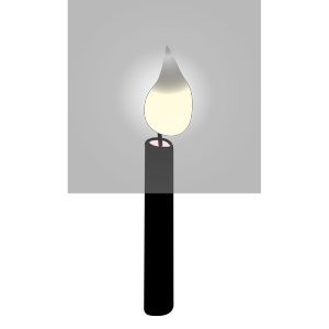Candle Outline icon png