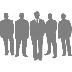 Black Men Grey icon png