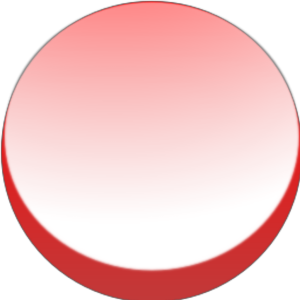 Round Red Button design