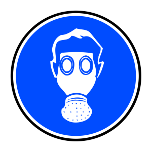 Mandatory Respiration Protection icon png