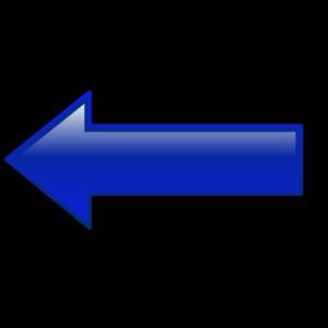 Arrow-left-blue icon png