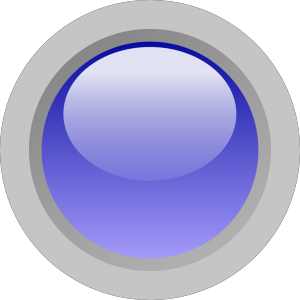 Led Circle (blue) icon png