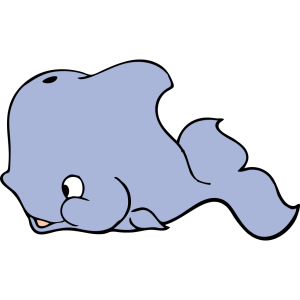 Cute Whale icon png