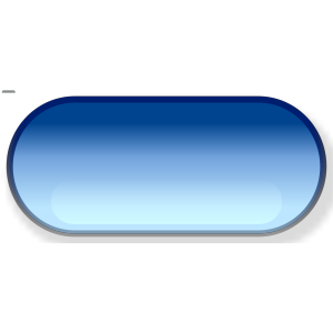 Pill button blue icon png