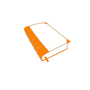 Open Book Art icon png