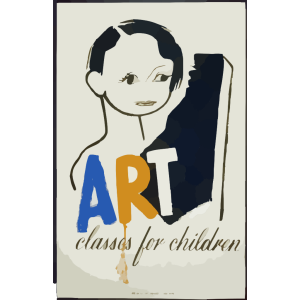Art Classes For Children icon png