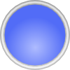 Shiny Blue Circle icon png