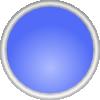 Shiny Blue Circle icon png