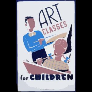 Art Classes For Children  / Bender. icon png