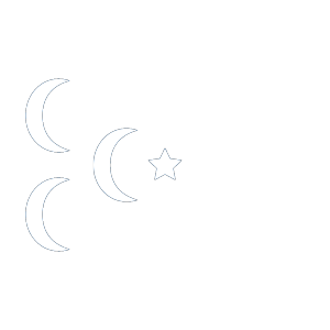 A Star And 3 Cresent Flag icon png