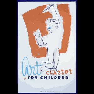 Art Classes For Children  / Osborn. icon png