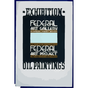 Exhibition - Oil Paintings, Federal Art Gallery icon png