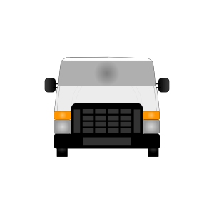 Blue Van icon png
