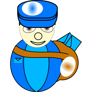 Mailman icon png