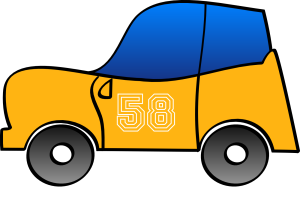 Cartoon Car icon png