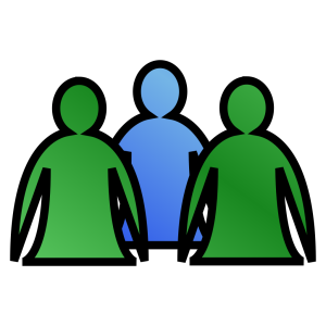 Abstract People icon png