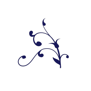 Blue Twisted Branch icon png