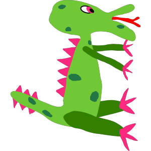 Cartoon Monster icon png