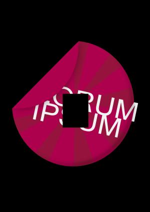 Peeling Blue Sticker icon png