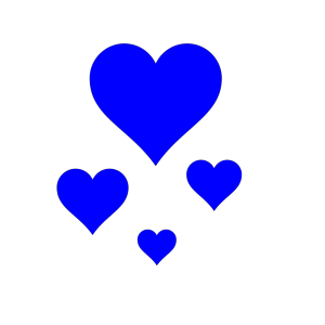 Hearts icon png