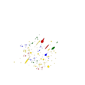 Paint Splatter Colors icon png