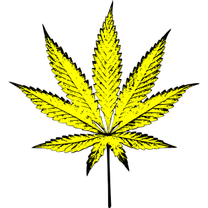 Weed Green White And Blue icon png