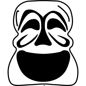 Goalie Mask Simple Outline icon png