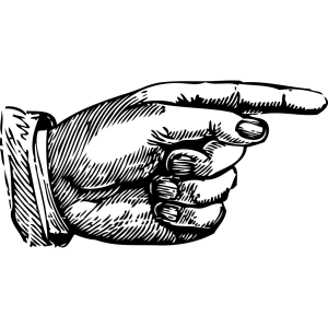 Pointing Hand icon png