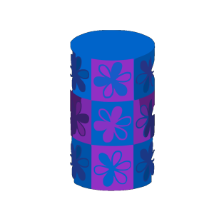 Art Blue Pink icon png