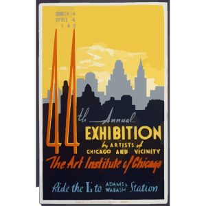 44th Annual Exhibition By Artists Of Chicago And Vicinity--the Art Institute Of Chicago  / Buczak. icon png
