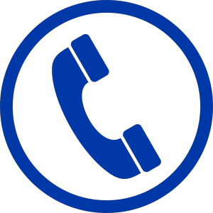 Blue Phone Sh icon png