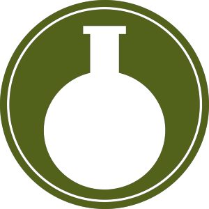 Blue Flask icon png