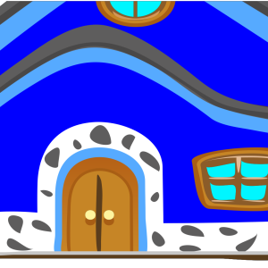 Casa Azul Blue House icon png