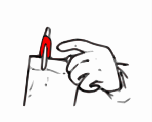 Blue Pen icon png