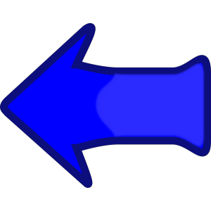 Arrow Set Smooth Left Blubbly icon png
