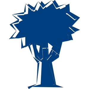 Blue Tree icon png