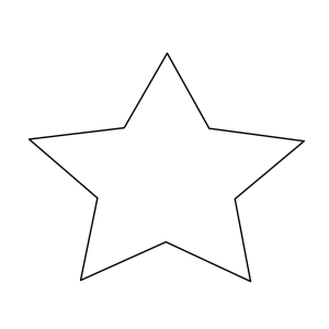 Rounded Star icon png