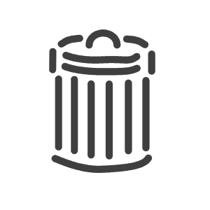 Trash Can icon png