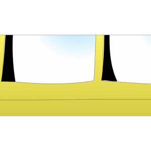 School Bus Outline design