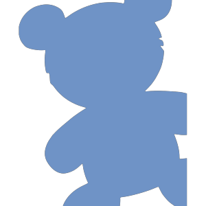 Baby Blue Bear icon png