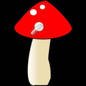 Blue Mushroom icon png