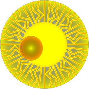 Blue Sun icon png