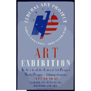 Federal Art Project, Works Progress Administration Art Exhibition By Artists Of The Federal Art Project ... [at The] Albany Institute Of History And Art icon png
