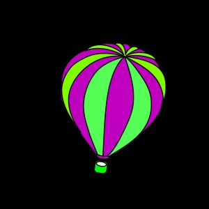 Hot Air Balloon Grey icon png