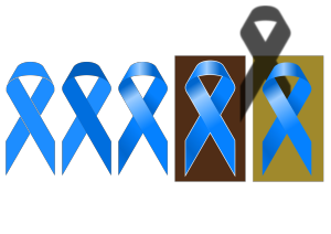 Blue T icon png