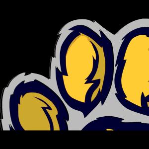 Blue Tiger Paw PNG, SVG Clip art for Web - Download Clip ...