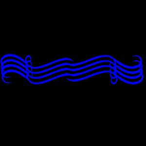 Big Blue Divider icon png