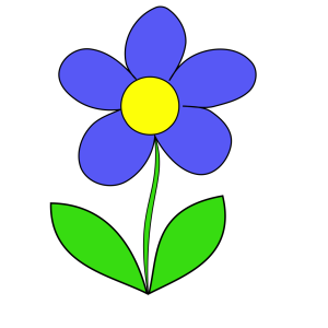 Simple Flower icon png