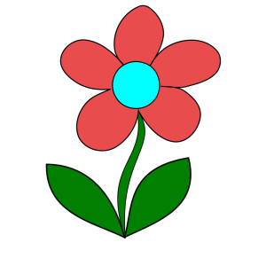Blue Flower icon png